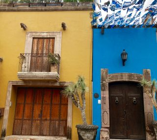 Color everywhere in San Miguel