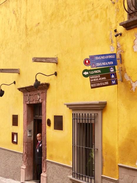 Colorful buildings in San Miguel de Allende