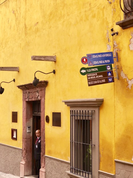 Colorful buildings in San Miguel de Allende