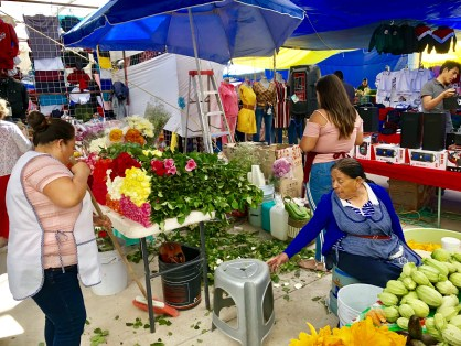The color of El Tianguis
