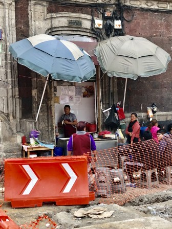 Every place warrants a street stall