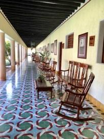 the lovely veranda