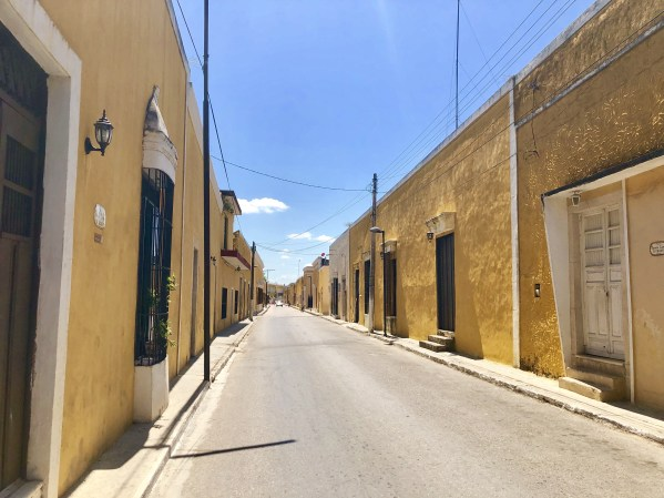 One of the yellow streets