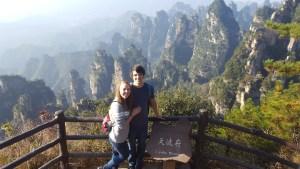 Zhangjiajie National Forest Park China Yangjiajie Tianbo Mansion