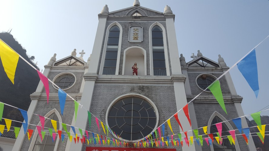 Catholic Church China Sinan Guizhou