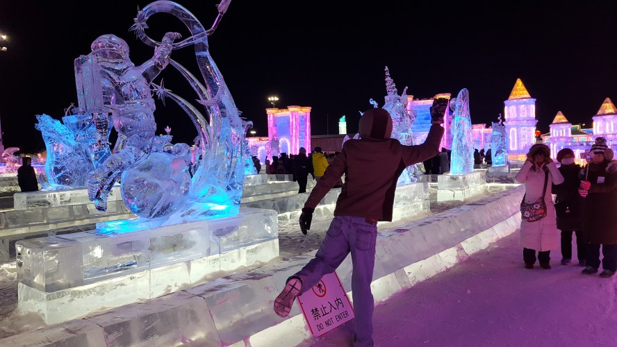 Harbin Ice and Snow World China Our Quarter Life Adventure Travel Blog