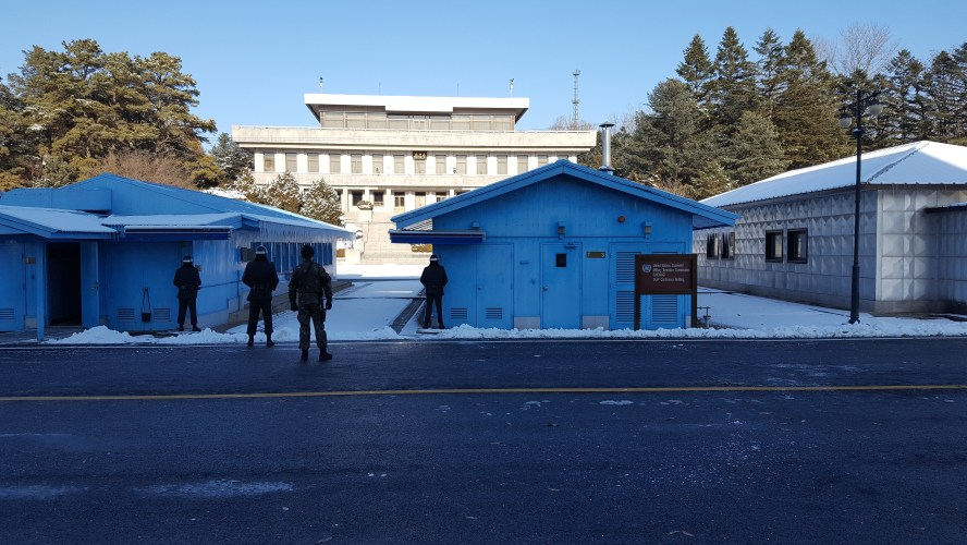 DMZ Demilitarized Zone JSA South Korea North Korea