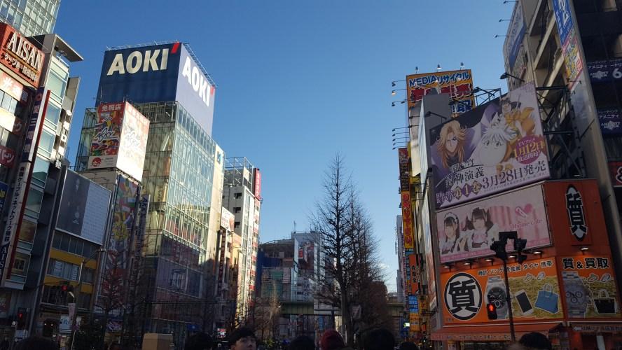 Tokyo Akihabara Electronics District