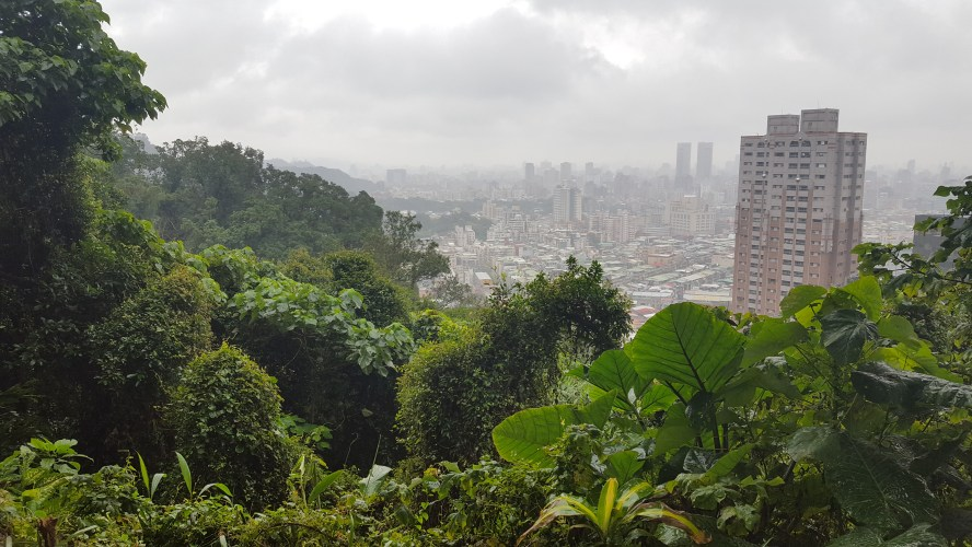 Elephant Mountain Taipei Taiwan Nangang Hiking Trail