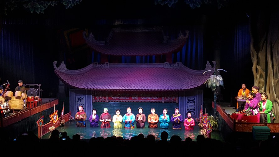 Hanoi Vietnam Water Puppet Theater