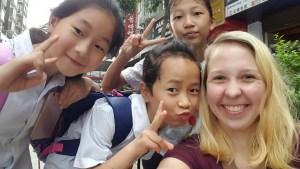 Selfie Students Guizhou China