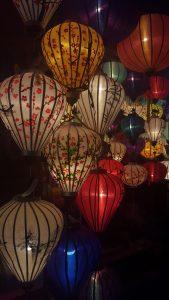 Hoi An Central Vietnam Lanterns at Night