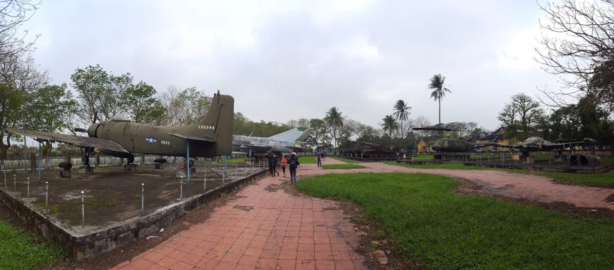 Hue Central Vietnam Military Vehicle Park