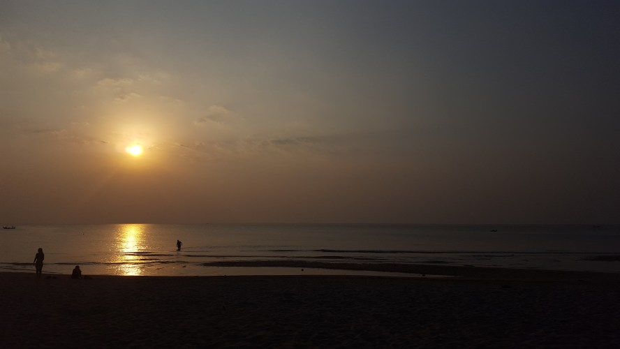 Long Beach Koh Lanta Thailand Sunset