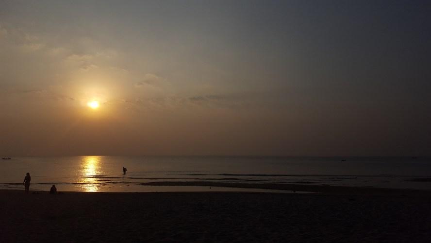 Long Beach Koh Lanta Thailand Sunset