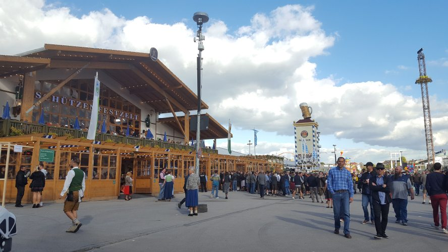 Munich Oktoberfest 2018 Spatenbrau Beer Our Quarter Life Adventure Travel Blog
