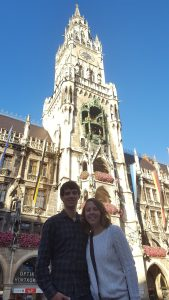 Marienplatz Square Munich Germany Ratshaus