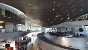 BMW Museum Munich Germany Cars Architecture
