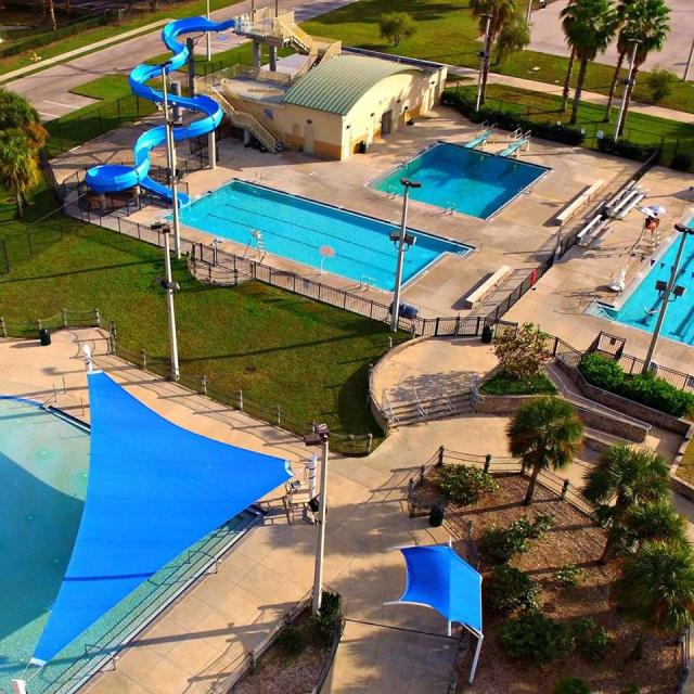 New Port Richey Recreation and Aquatic Center Top 5 things to do in Pasco County Florida