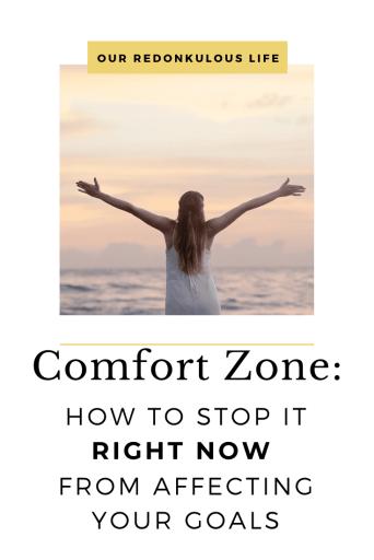 Comfort Zone Goals