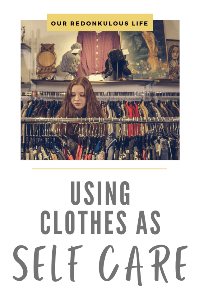 use clothes as self-care