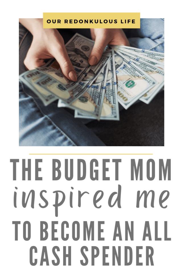 The Budget Mom all-cash spender