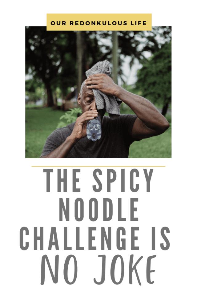 Spicy Noodle Challenge