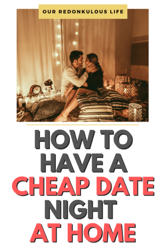 cheap date night at home