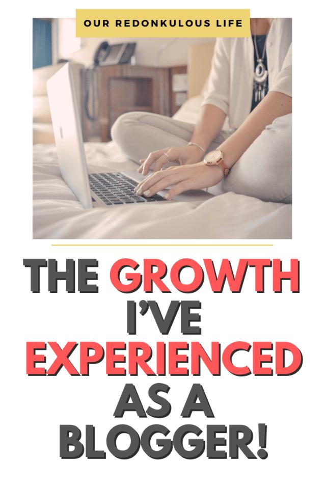 growth I've experienced