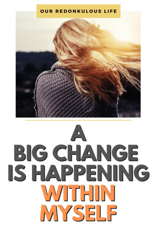 change within myself
