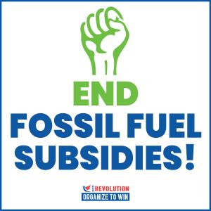 end fossil fuel subsidies