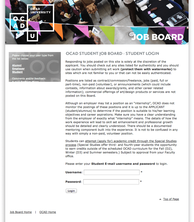 ocadu-student-job-board