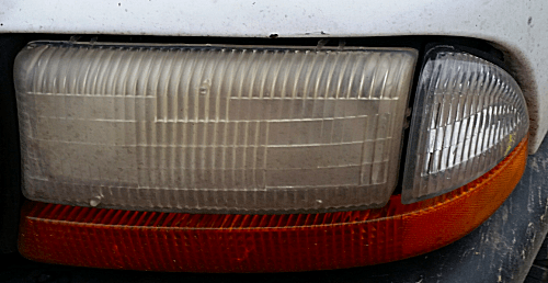 Truck Old Headlight