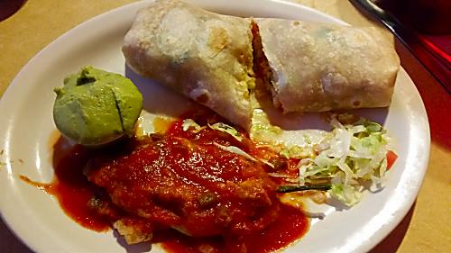 Sofia's Shrimp Burrito