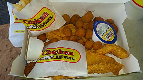 Chicken Express Catfish