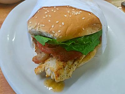 Fish Pond Grilled Chicken Club