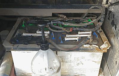 Rig Battery Pump