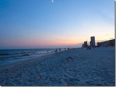 Gulf Shores Beach Sundown 6