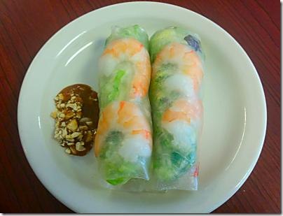 Asian BBQ Spring Rolls