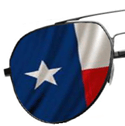 Texas Glasses Half