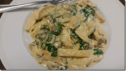 Bella Sera Chicken Florentine