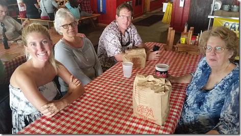 Family at Rudy's