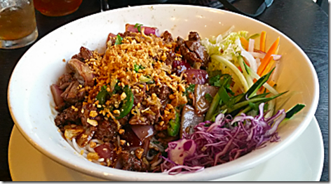 Little V's Shaking Beef Vermicelli