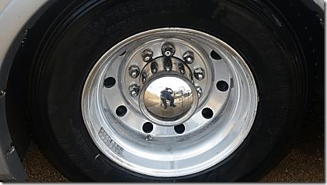 Rig Rear Wheel After