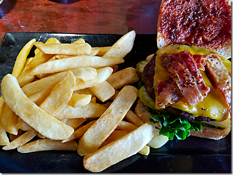 Red Robin Smoke and Pepper Burger