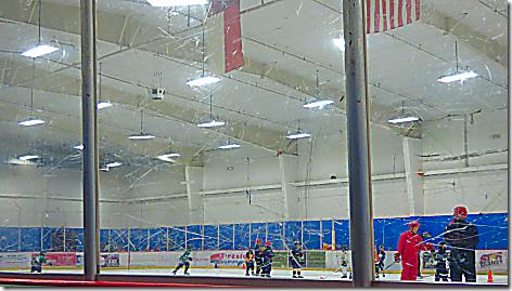 Hockey Rink Glass
