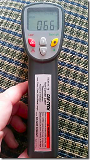 Infrared Thermometer - Cen-Tech
