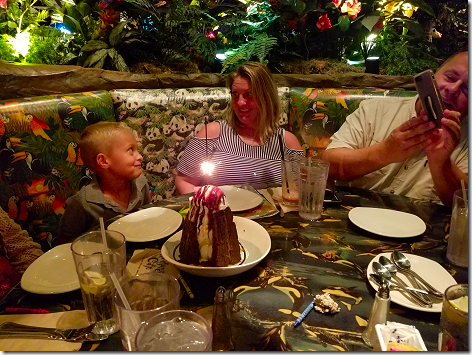 Rainforest Cafe Volcano