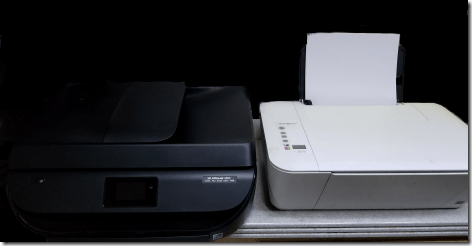 New Printer Comparison