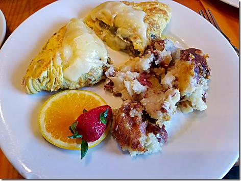 Sunflower Cafe Hatch Omelet